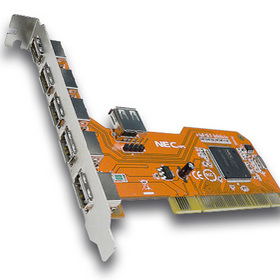 CARTE PCI 5 PORTS USB 2.0